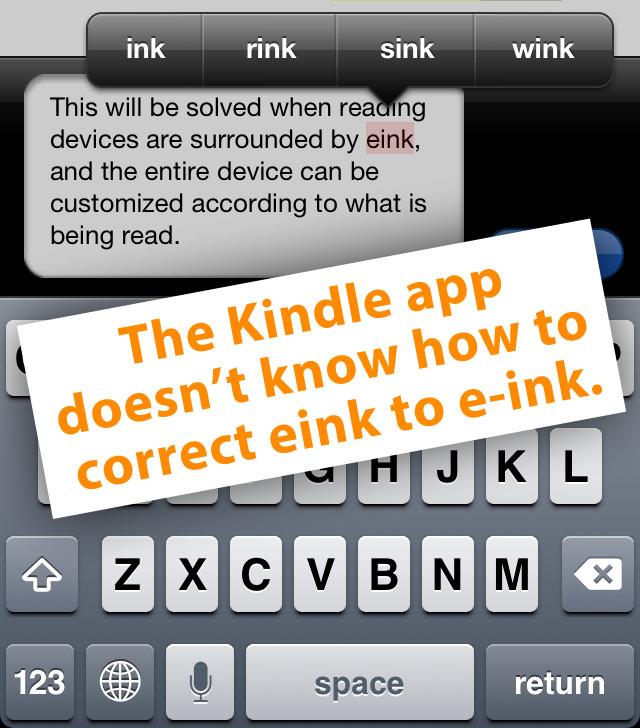 add dictionary to kindle app