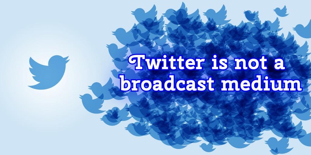 A lot of twitter birds