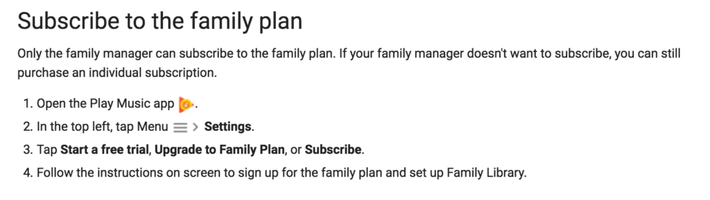 High Quality Upgrade To Google Play Family Plan