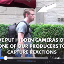 we put hidden cameras on one of our producers to capture reactions