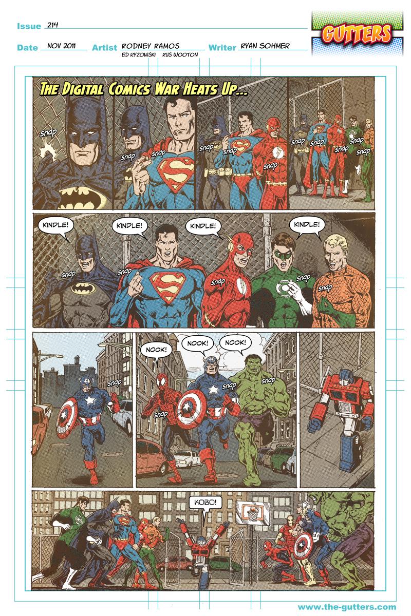 Digital comics war heats up