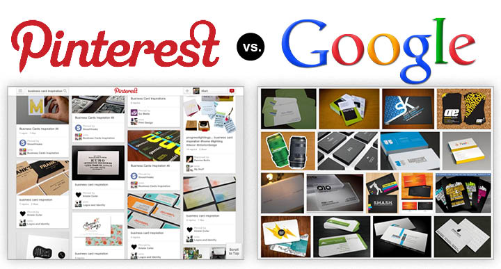 The Pinterest versus Google smackdown