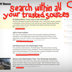 Search within all your trusted sources