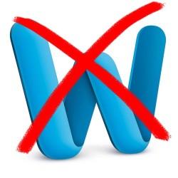 Anti-Microsoft Word icon