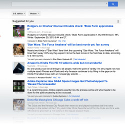Google News: Suggested for you