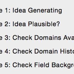 Affiliate site bookmarks
