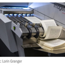 Pages flying through a scanning machine