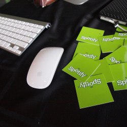 Spotify redemption cards