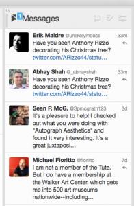 Tweetdeck messages column (for all accounts)