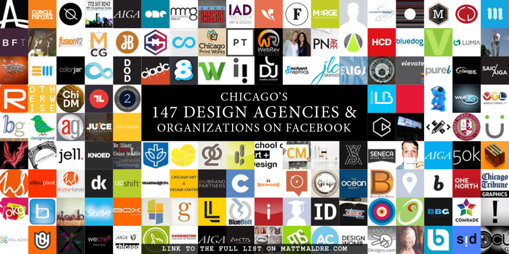Chicago design agencies on Facebook