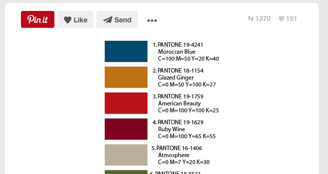 Some random color palette