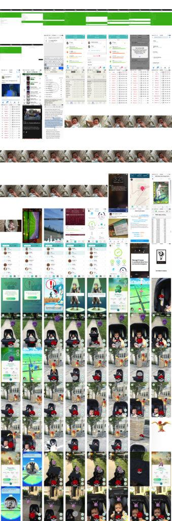 2016 iPhone screenshots collage #2