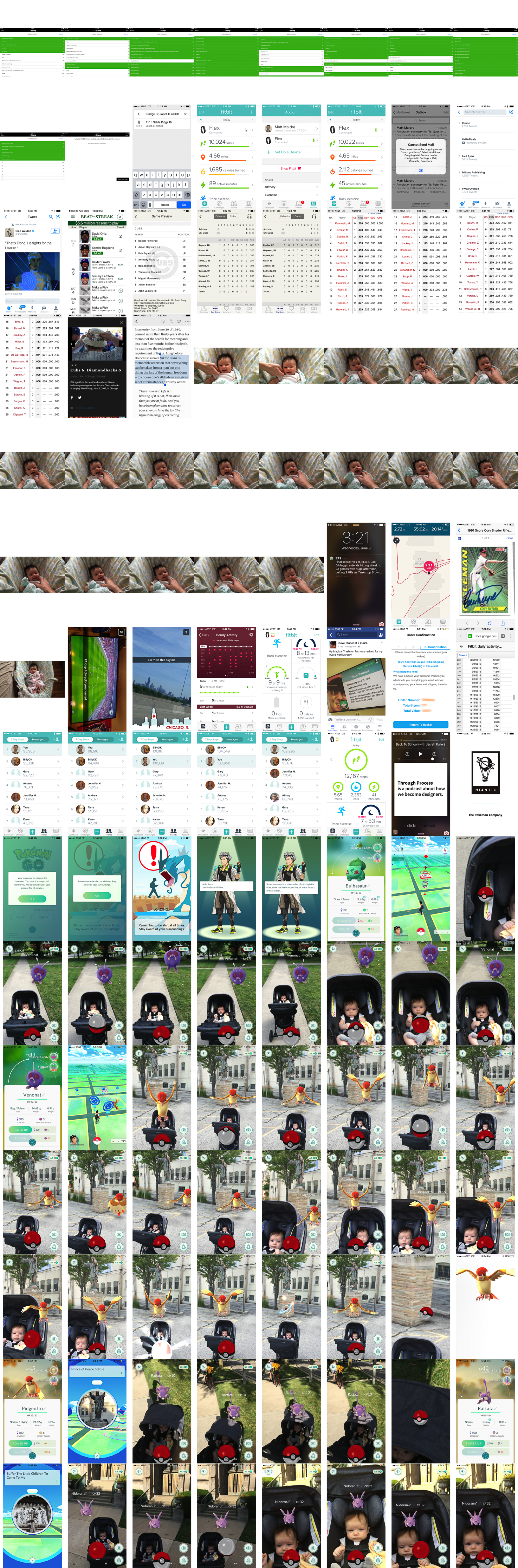 iphone collage maker how to make a collage from all your iphone screenshots 5051