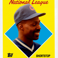 Fun Cards 1988 Topps All-Star Shawon Dunston
