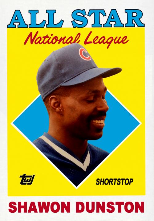 Fun Cards 1988 Topps All-Star Shawon Dunston