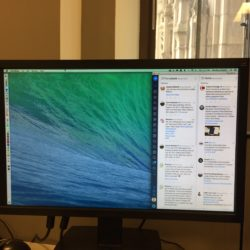 My Tweetdeck setup on a 3rd screen
