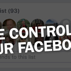 Take control of your Facebook