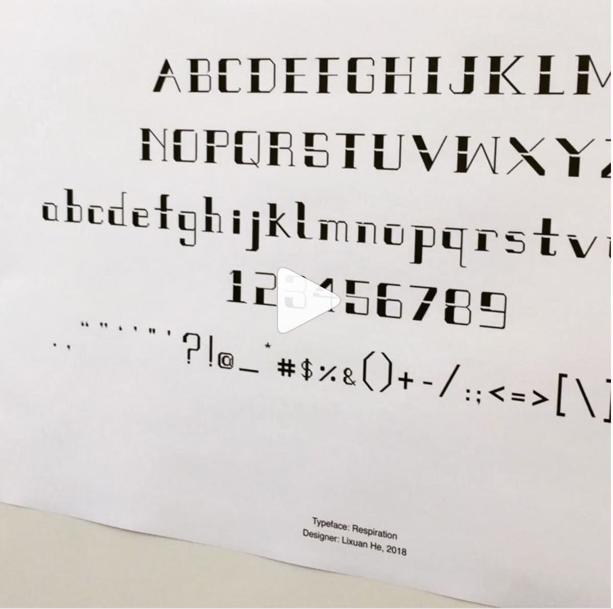 Instagram #typefacetornado