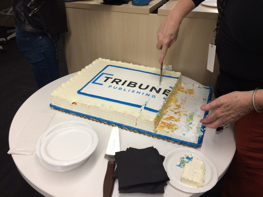 slicing the Tribune Publishing cake