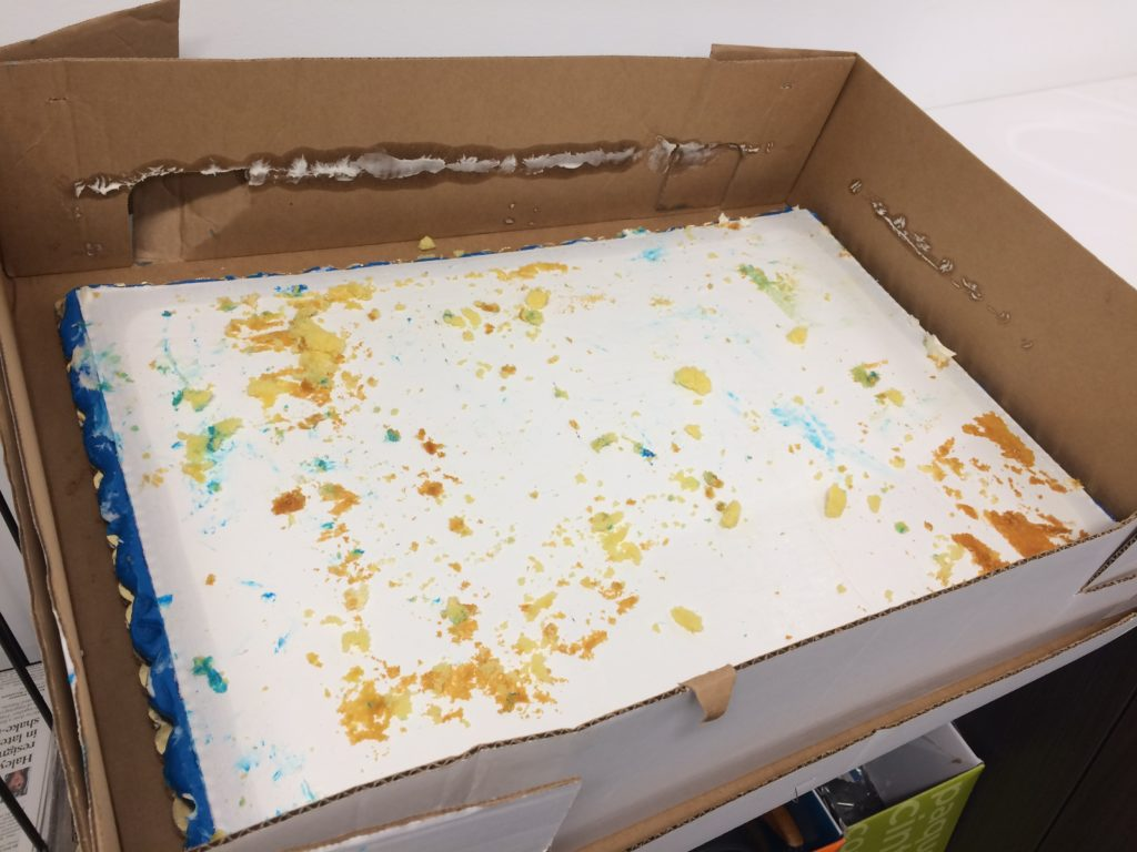 Tribune Publishing cake eaten