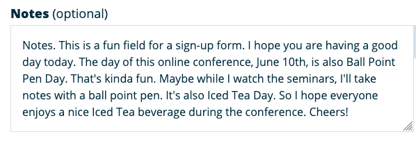 The day of this online conference, June 10th, is also Ball Point Pen Day. That's kinda fun. Maybe while I watch the seminars, I'll take notes with a ball point pen. June 10th is also Iced Tea Day. I hope everyone enjoys a nice iced tea beverage during the conference. Cheers!